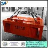 中断コンベヤーベルトMc23のための長方形の電磁石の鉄の分離器