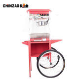 O carro elétrico comercial da máquina da pipoca roda a máquina do petisco (CHZ-8A)