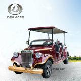 8 de Elektrische Klassieke Bestelwagen Met lage snelheid van de Kar van het Golf Seaters