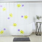 Nuevo diseño mayorista PEVA cortina de ducha para el cuarto de baño