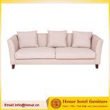 現代クリーム色の(柔らかいファブリック)単一のラウンジのソファー