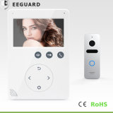 De Veiligheid van het huis 4 Draden 4.3 van het Video van de Deur van de Telefoon Duim Systeem van de Intercom Interphone