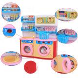 A mini máquina de lavar plástica dos dispositivos finge brinquedos do jogo