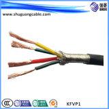 Лента полно Screened/PE Insulated/PVC Cu обшила/, котор кабель сели на мель/компьютеры/аппаратуры