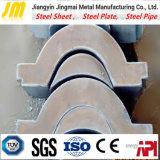 Piatto d'acciaio di Reistant di usura di taglio della tagliatrice del piatto d'acciaio di CNC