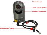 パトカーのための80mの夜間視界30Xのズームレンズ2.0MP HD IR PTZの監視カメラ