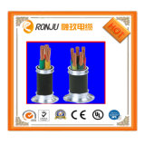 Collegare flessibile di memoria 2.5mm dello schermo 3 di spirale dell'isolamento del PVC