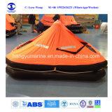 Ambos os lados do Liferafts infláveis reversíveis Canopied