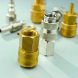 Tipo universal acoplador rápido apropiado de cobre amarillo (USH40) del euro