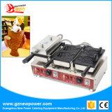 Roteer de Machine van Taiyaki van het Roomijs met Ce voor Verkoop (np-741)