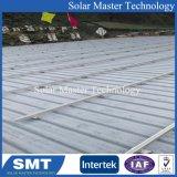 Supports de l'énergie solaire en aluminium pour toit de métal