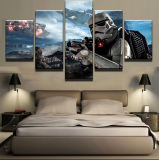 5 Panel Movie Star War Painting Canvas Wall Art Picture Home Decoration Living room Room Canvas Print Modern Painting Modular Picture