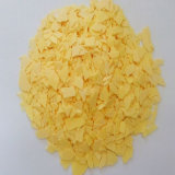Baixo amarelo satisfeito do sulfureto 60% do sódio do Fe
