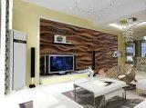 Placa de armário de cozinha móveis de materiais decorativos em madeira do painel Painel Artístico