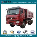 판매를 위한 Sinotruk HOWO 20m3 덤프 트럭 6X4 팁 주는 사람 트럭