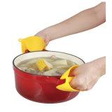 Перчатки печи перчаток щипка силикона Kitchenware теплостойкNp варя миниые