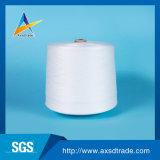 Hilados de polyester hechos girar alta calidad del enchufe de fábrica el 100% manufacturados en China