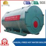 Небольшая емкость горизонтальная природного газа бойлер для текстильной