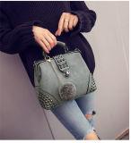 Heißer Verkaufstumpfe polnische Faux-Leder-Dame-Handtasche mit abnehmbarem Schultergurt