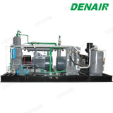 Leises industrielles ölfreies weniger Oilless Dieselhochdruckkolben-Luftverdichter