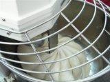 Mezclador industrial del polvo del alimento de la caída del espiral de la pasta Zz-40