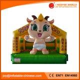 Juguete de salto inflable/Moonwalk de China que salta el castillo animoso (T1-513)