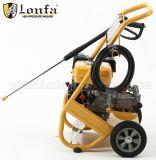 단단한 바퀴 이탈리아 펌프 5.5HP 2200psi 150bar 가솔린 고압 세탁기