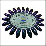 Polvo Ocrown88802 del arte del clavo del efecto del espejo del camaleón del pigmento del cromo
