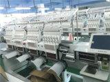 Máquinas de bordado computarizado de 4 cabezales para damas y tapa de bordados trajes de diseño