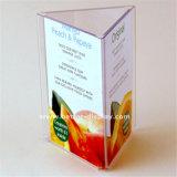 Venda por grosso de exibição da etiqueta de preço em acrílico transparente