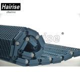 Hairise 100 de Reeksen Opgeheven Plastic Transportband van de Rib