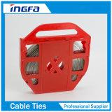 201 304 aço inoxidável revestido de 316 PVC que prende com correias a faixa com curvaturas