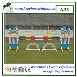 Producto del caballo para el salto de aluminio de la demostración