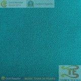 Plain double couche de tissu poly spandex de tissu du vêtement