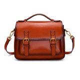 Cuoio genuino delle signore di Junyuan di mano dei sacchetti delle borse all'ingrosso delle donne alla moda per la signora, cartella per le donne