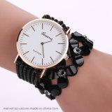 As mulheres Flores relógio de pulso de Diamante de cristal de quartzo bracelete de moda ver