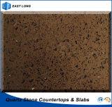 Künstlicher Quarz-Großhandelsstein-feste Oberfläche für Baumaterial mit SGS u. Cer-Bescheinigungen (dunkle Farben)