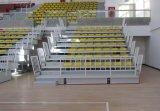Teleskopischer Sitz, einziehbarer Bleacher, Innenbleacher-Sport-Sitz, Plastikstuhl-System Jy-706