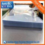 300 micras de hoja transparente de PVC rígido alfombrilla de ratón para hacer