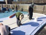 Dach-Blatt/4m Breite verstärkter Belüftung-wasserdichte Membranen-heißer Verkauf in Bangladesh 2018