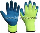 Цветастая перчатка с покрытием латекса (LY2026) (ОДОБРЕННЫЙ CE)