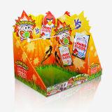 Süßigkeit-Pappeinzelverkaufcountertop-Bildschirmanzeige, Zuckerbildschirmanzeige, Papierausstellungsstand