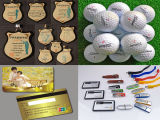 Round Bottle, Golf Ball, Phone Case 및 Pen를 위한 A3 Multifunctional LED UV Printer