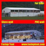 Tenda trasparente portatile della tenda foranea del doppio ponte per il partito