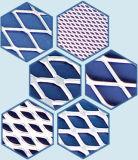 フィルター材料、拡大されたアルミニウム網