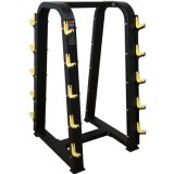 体操機械10PC Barbellラック、適性の練習装置