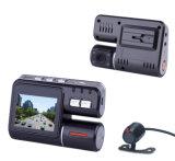 مسجل فيديو رقمي (DVR) للسيارة مع كاميرا عالية الوضوح مزدوجة (I1000)