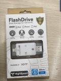 Dispositivo externo OTG USB Micro SD e leitor de cartão SD Suporte para iPhone e telefone Andorid (OM-P905)