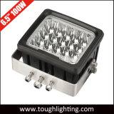 """6.5 """" luces resistentes cuadradas E-Aprobadas del trabajo de 100W LED para la explotación minera"""