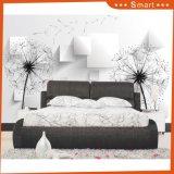 3Dホーム室内装飾のための白黒タンポポの油絵か壁紙